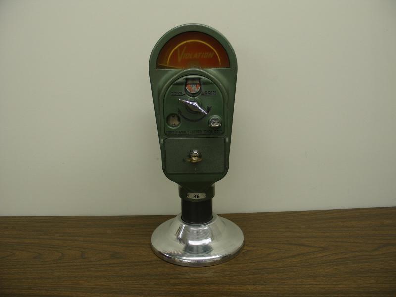 duncan model 60 parking meter manual